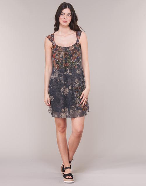 Cortos Gris Desigual Niels Textil Mujer Vestidos wXuTlOkiPZ