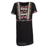 textil Mujer vestidos cortos Desigual TRALEE Negro