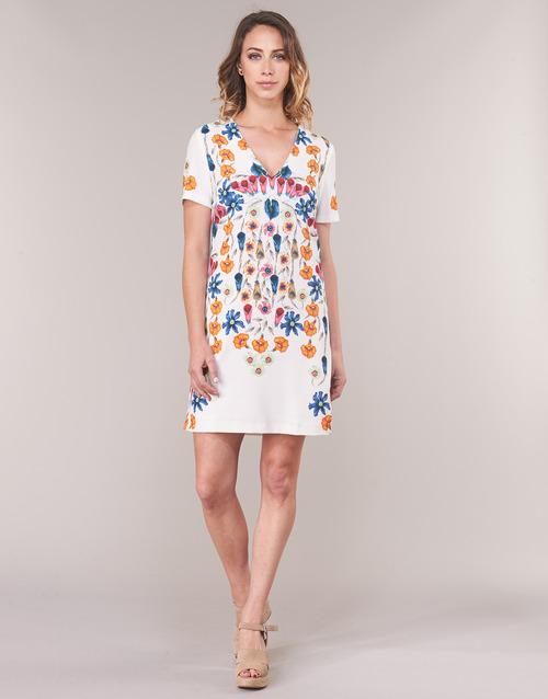 Cortos Cork Textil Mujer Desigual Blanco Vestidos 0wPknO