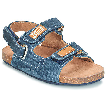 Zapatos Niño Sandalias Mod'8 KORTIS Azul / Jean