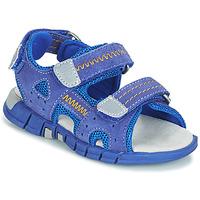 Zapatos Niño Sandalias de deporte Mod'8 TRIBATH Azul