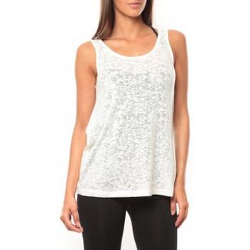 textil Mujer Camisetas sin mangas Vero Moda Débardeur Kitty Tank Top 10110750 Blanc Blanco