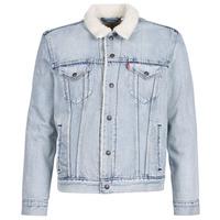 textil Hombre chaquetas denim Levi's TYPE 3 SHERPA TRUCKER Stonebridge / Sherpa / Trucker