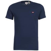 textil Hombre camisetas manga corta Levi's SS ORIGINAL HM TEE Marino