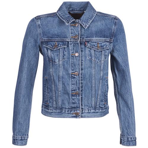 textil Mujer chaquetas denim Levi's ORIGINAL TRUCKER Azul / Medium