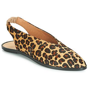Zapatos Mujer Bailarinas-manoletinas Jonak APIO Leopardo