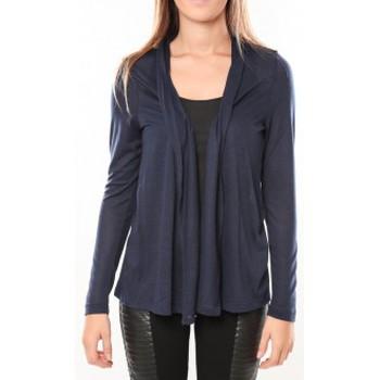 textil Mujer Chaquetas de punto Vero Moda Conrad LS Cardigan 10098335 Bleu Azul