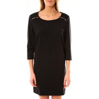 textil Mujer Vestidos cortos Vero Moda Greg 3/4 Short Dress 10098979 Noir Negro