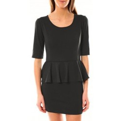 textil Mujer Vestidos cortos Tcqb Robe Moda Fashion Anthracite Gris