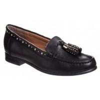 Zapatos Mujer Mocasín Ilario Ferucci Mocassins Danyel Noir Negro