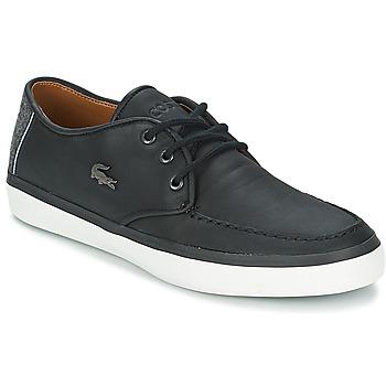 Zapatos Hombre Zapatos náuticos Lacoste SEVRIN LCR 2 Gris