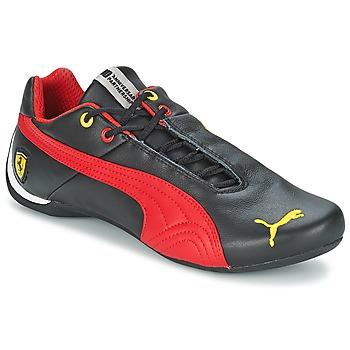 Zapatos Hombre Zapatillas bajas Puma FUTURE CAT LEATHER SF -10- Negro / Rojo