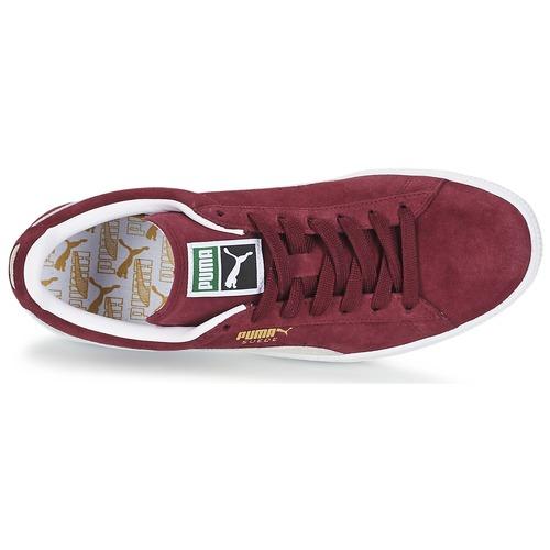 Suede Zapatillas Zapatos Bajas Puma Classic Burdeo AR543jL