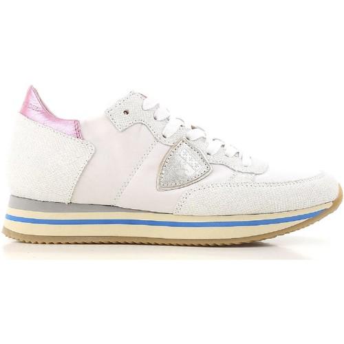 Zapatos Mujer Zapatillas bajas Philippe Model THLD VP01 bianco