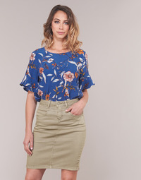 textil Mujer Tops / Blusas Cream ALLY Azul