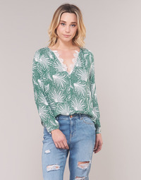 textil Mujer Tops / Blusas See U Soon GARAGAVE Verde / Blanco