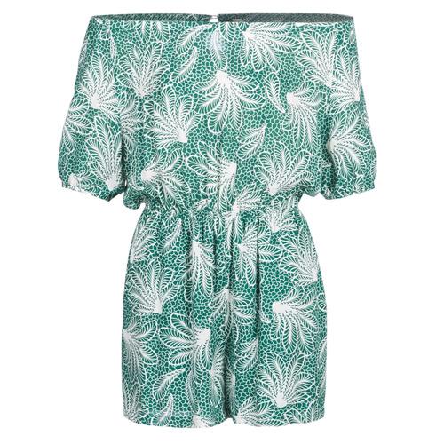 See U Soon GARAGABE Verde / Blanco - Envío gratis | ! - textil Monos Mujer