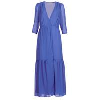 textil Mujer vestidos largos See U Soon GARAGADE Azul