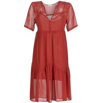 textil Mujer vestidos cortos See U Soon GARAGACE Rojo
