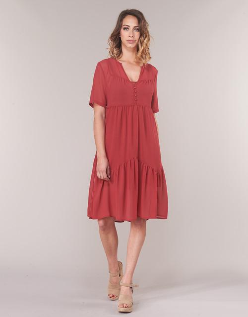 Textil Soon See Garagace Vestidos U Mujer Rojo Cortos uFJlTK13c