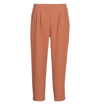 textil Mujer Pantalones fluidos See U Soon GARAGACI Ocre