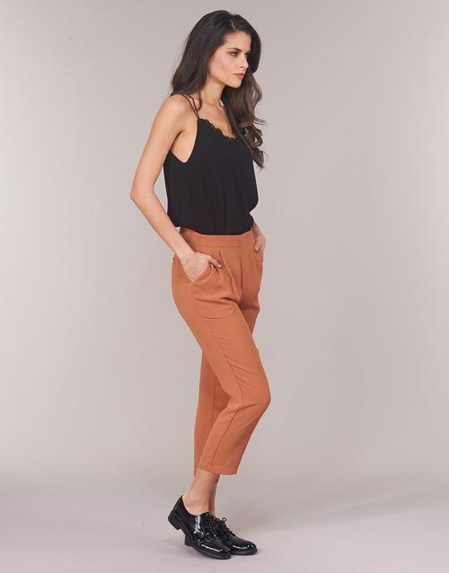 Soon Garagaci Ocre Textil See Fluidos Pantalones Mujer U dCtsQxhr