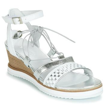 Zapatos Mujer Sandalias Regard RAXAF V1 TRES ALFA BLANC Blanco