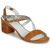 Zapatos Mujer Sandalias Regard REFTA V1 ANTE CAMEL Marrón