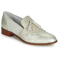 Zapatos Mujer Mocasín Regard REVAMI V3 METALCRIS ICE Plateado