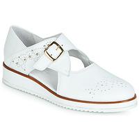 Zapatos Mujer Derbie Regard RIXALO V1 NAPPA BLANC Blanco