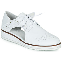 Zapatos Mujer Derbie Regard RIXAMU V1 NAPPA BLANC Negro