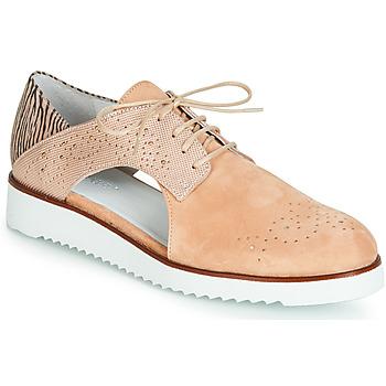 Zapatos Mujer Derbie Regard RIXULO V1 VEL ROSE Rosa
