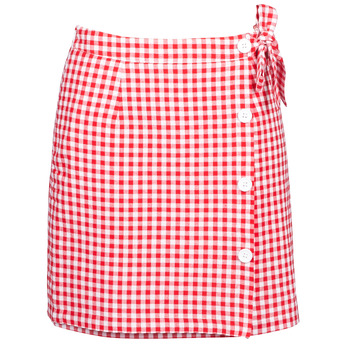 textil Mujer Faldas Betty London KRAKAV Rojo / Blanco