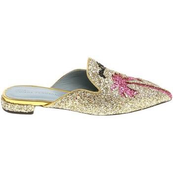 Zapatos Mujer Zuecos (Clogs) Chiara Ferragni CF1842 GLITTER ORO oro