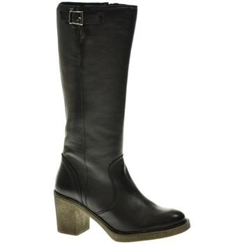 Zapatos Mujer Botas urbanas Linea Purpura 80536 Negro