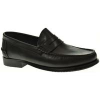 Zapatos Hombre Mocasín Linea Purpura 93000 Negro