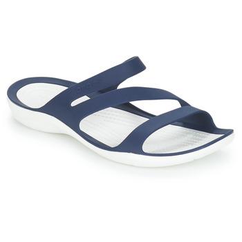 Zapatos Mujer Sandalias Crocs SWIFTWATER SANDAL W Marino