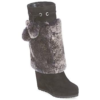 Zapatos Mujer Botas urbanas Sebastian NIGOK Negro