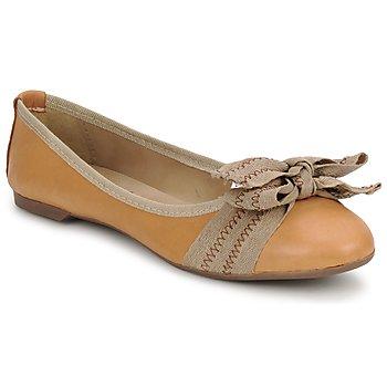 Zapatos Mujer Bailarinas-manoletinas StylistClick LUNA Marrón