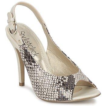 Zapatos Mujer Sandalias StylistClick RUTH Beige / Verde