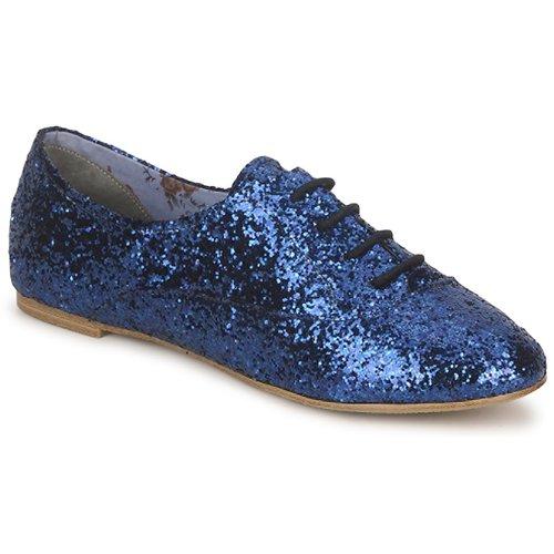 Stylistclick Azul Natalie Zapatos Richelieu Mujer rCoshBtQdx