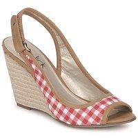 Zapatos Mujer Sandalias StylistClick INES Jude / Natural / Rojo