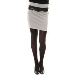textil Mujer Faldas Nina Rocca Jupe J.X Fashion Gris Gris