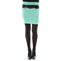 textil Mujer Faldas Nina Rocca Jupe J.X Fashion VERT Azul