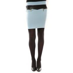 textil Mujer Faldas Nina Rocca Jupe J.X Fashion Bleu Azul