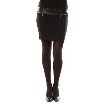textil Mujer Faldas Nina Rocca Jupe J.X Fashion Noir Negro