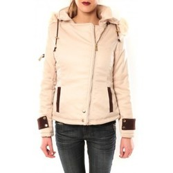 textil Mujer cazadoras Sweet Company Blouson Flamant Rose 8A161 Beige Beige