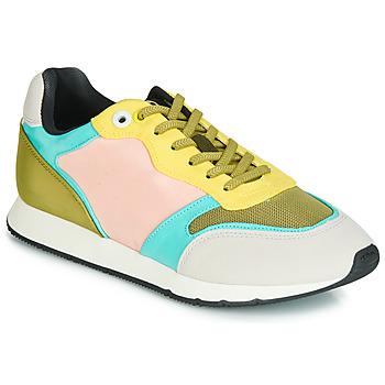 Zapatos Mujer Zapatillas bajas MTNG HANNA Rosa / Amarillo / Turquesa