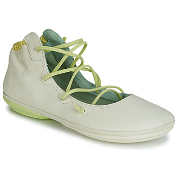 Zapatos Mujer Bailarinas-manoletinas Camper RIGHT NINA LACE Beige