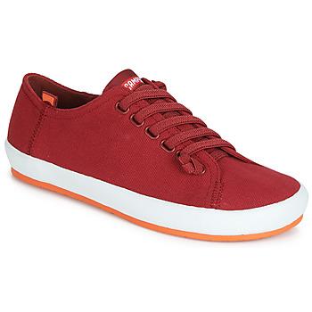 Zapatos Mujer Derbie Camper PEU RAMBLA VULCANIZADO Rojo